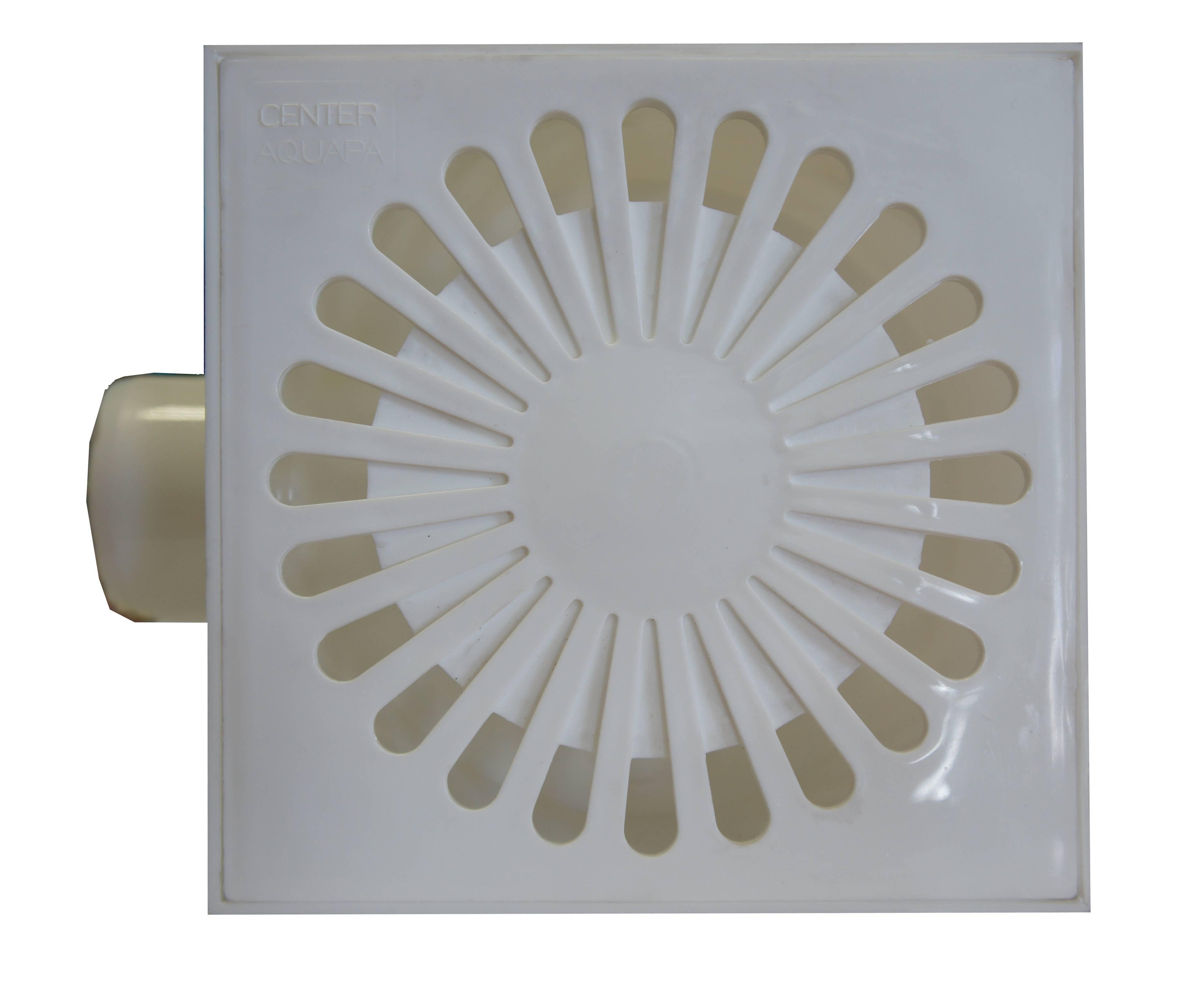 Трап угловой пластиковый 150х150, 50 мм (гидрозатвор)