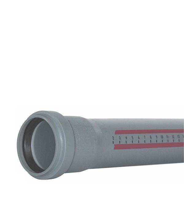Труба канализационная внутренняя Ostendorf 110х1500 мм в г тула пластиковые трубы оптом цена труба 110 мм