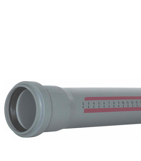 Труба канализационная внутренняя Ostendorf 110х2000 мм в г тула пластиковые трубы оптом цена труба 110 мм