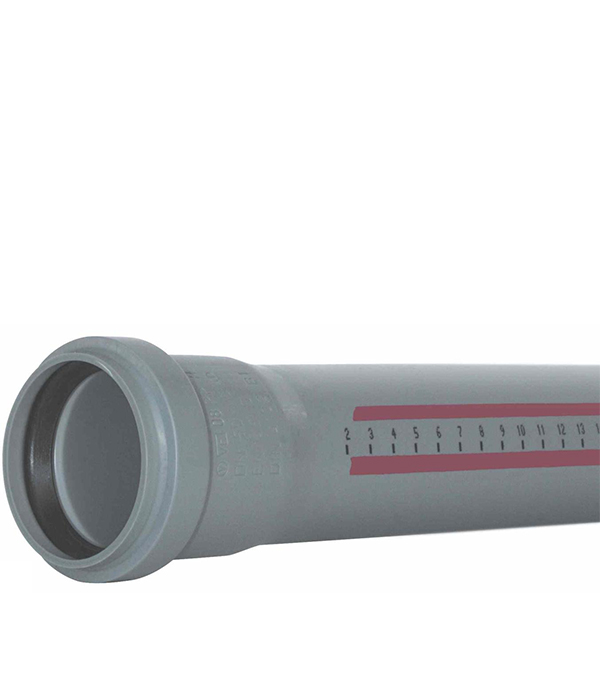 Труба канализационная внутренняя 50х1000 мм Ostendorf