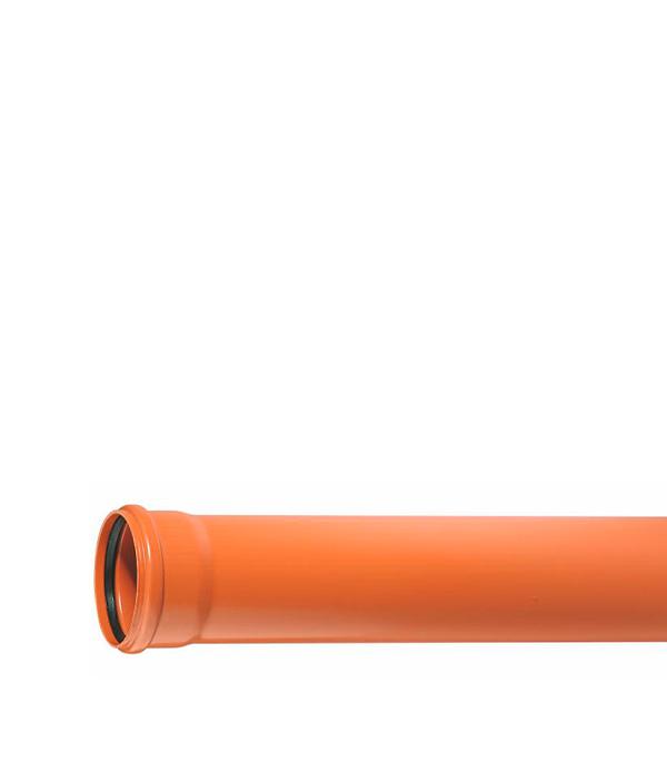 Труба канализационная наружная Ostendorf 110х1000 мм муфта труба труба d 16 gig
