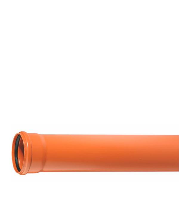 Труба канализационная наружная 160х1000 мм Ostendorf