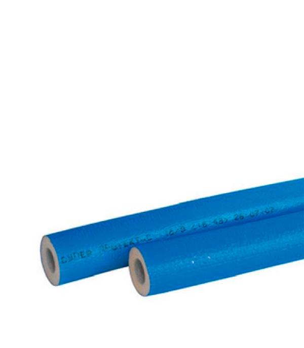 Теплоизоляция для труб 28х4 мм синяя (бухта 11 м)