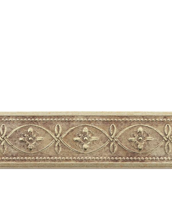 Плинтус Decomaster матовое золото 50х11х2400 мм decomaster багет decomaster 808 552 размер 61х26х2900мм