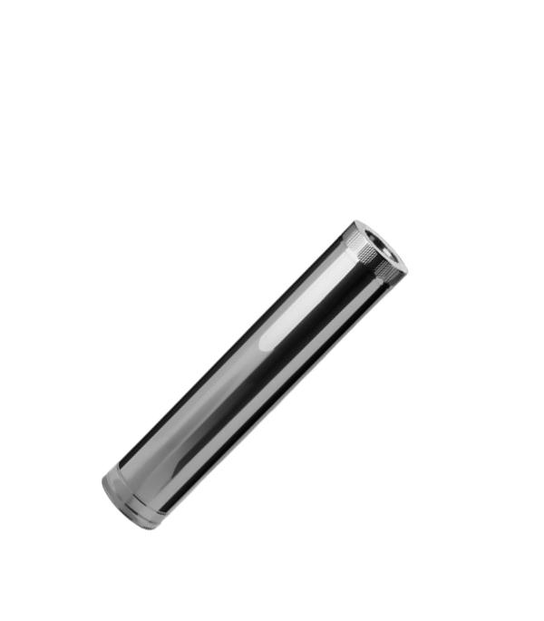 Дымоход-сэндвич из нержавеющей стали d=120/200 мм, 1 м