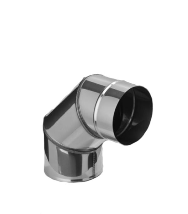 Колено из нержавеющей стали, d=115 мм, угол 90°