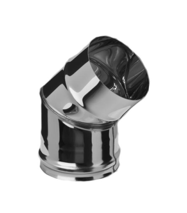 Колено из нержавеющей стали, d=120 мм, угол 135°