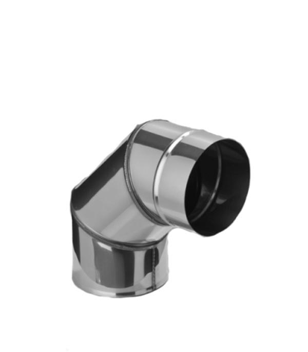 Колено из нержавеющей стали, d=120 мм, угол 90°