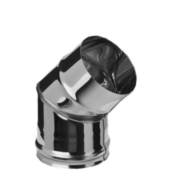 Колено из нержавеющей стали, d=150 мм, угол 135°