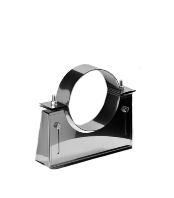 Кронштейн стеновой К-1 из нержавеющей стали, d=115 мм, расстояние 55-105 мм