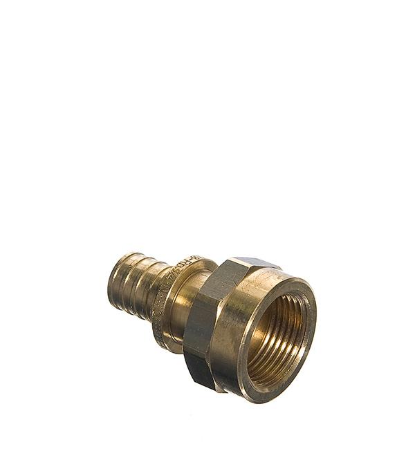 Соединитель прямой Rehau RX 20 х 3/4 внутр(г) угол rehau rx 16 х 1 2 внутр г