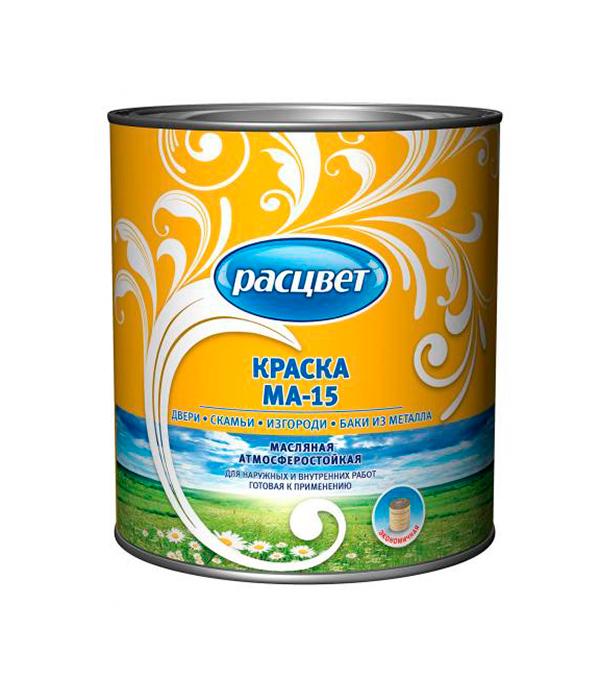 цена на Краска масляная МА-15 сурик Расцвет Empils 2,7 кг