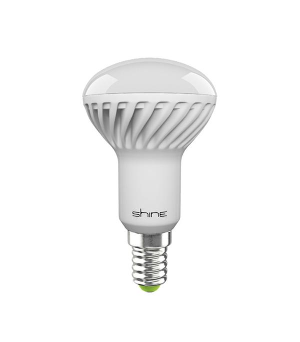 Лампа светодиодная E14,  6W, R50 (рефлектор), 4000K (холодный свет), Shine