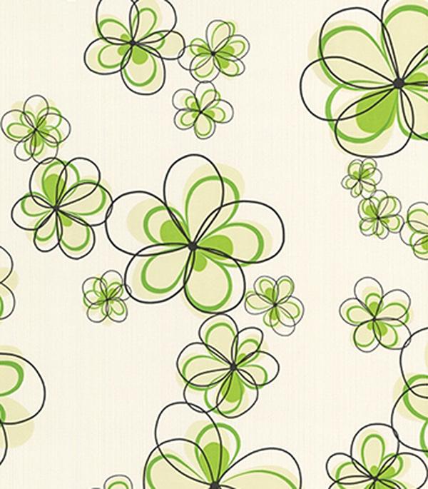 Виниловые обои на флизелиновой основе с рисунком
