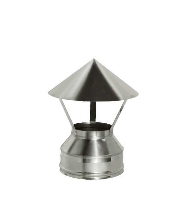 Зонт Дымок на трубу с изоляцией 115x200