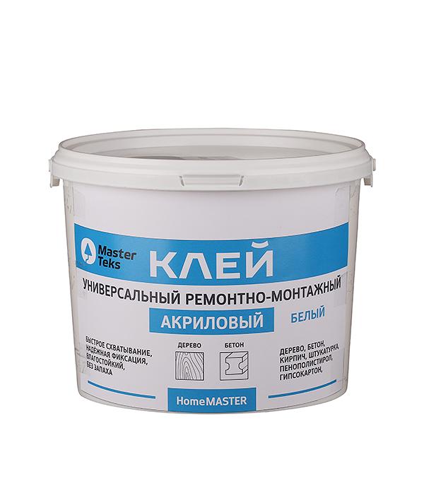 Клей акриловый ремонтно-монтажный Мастертекс 3,6 кг белый