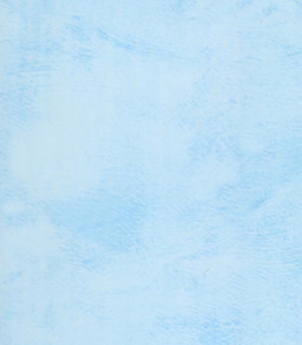 Панель ПВХ голубой шпатель 250х2700х10 мм, Нордсайд