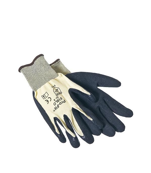 Перчатки трикотажные с латексным покрытием для монтажных работ  KWB Профи