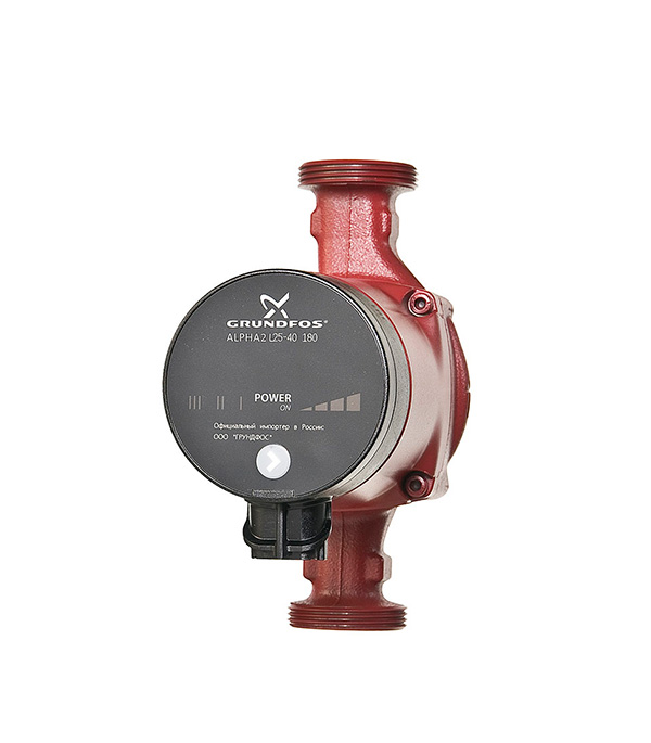 Насос циркуляционный для систем отопления Grundfos  Alpha2L 25-40 с гайками