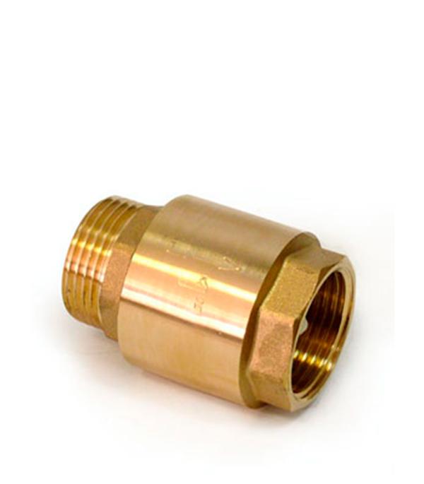 Обратный клапан FV-D 1 латунь/внеш. Резьба аквалого aqualogo клапан обратный для компрессора 3 шт