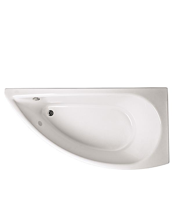 Ванна акриловая Piccolo ассиметричная правая 1500х750 мм акриловая ванна triton бэлла правая
