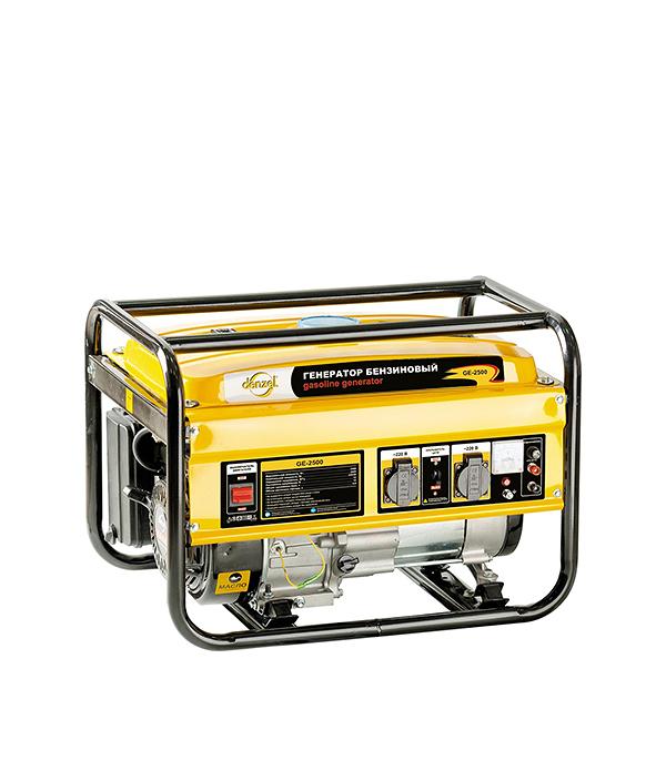 Генератор бензиновый 2,5 кВт Denzel GE2500