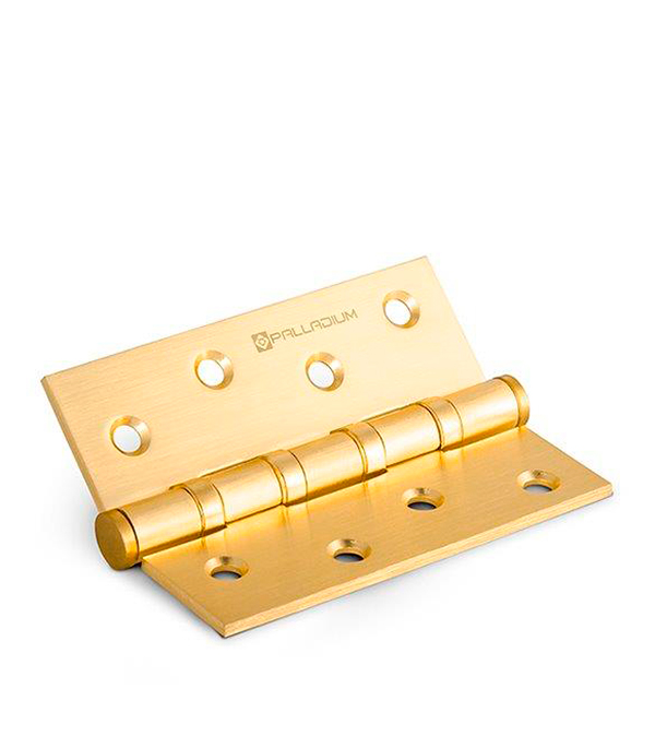 Петля универсальная Palladium N 4BB-100 SB матовая латунь 3 мм петля накладная palladium 2bb 100 sb мат латунь