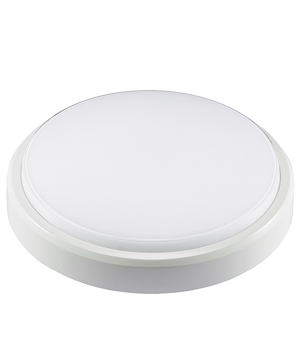 Светильник светодиодный  8 Вт круглый влагозащищенный (IP 65), 4000K (холодный свет)