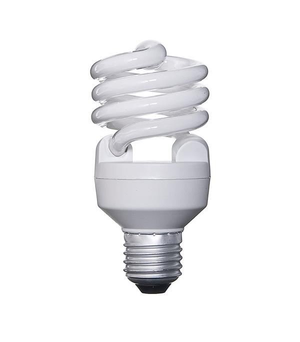 Лампа энергосберегающая E27, 20W, MiniTwist, 2700K (теплый свет), Osram