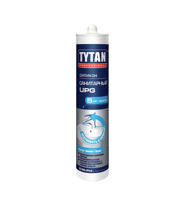 Герметик силиконовый Tytan UPG санитарный 310 мл белый