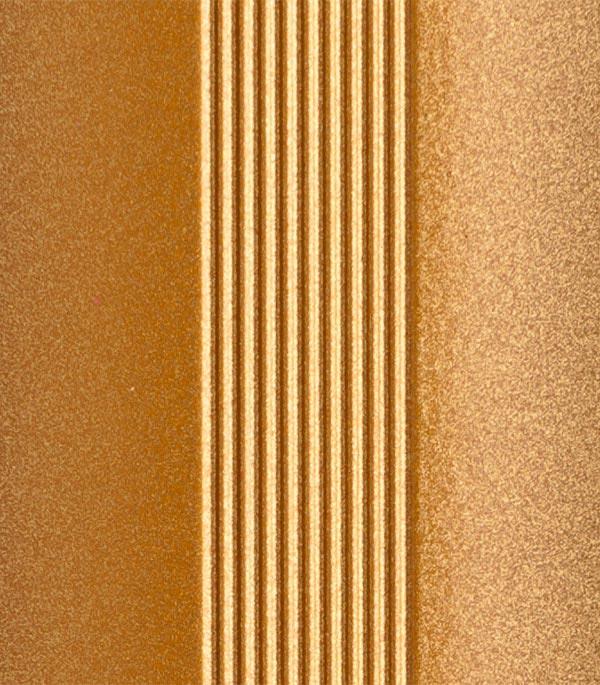 Порог стыкоперекрывающий 28x1800 мм золото