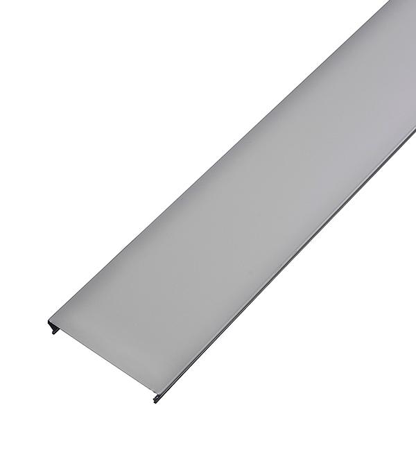 Рейка сплошная S-дизайн 100АS 3м белая матовая