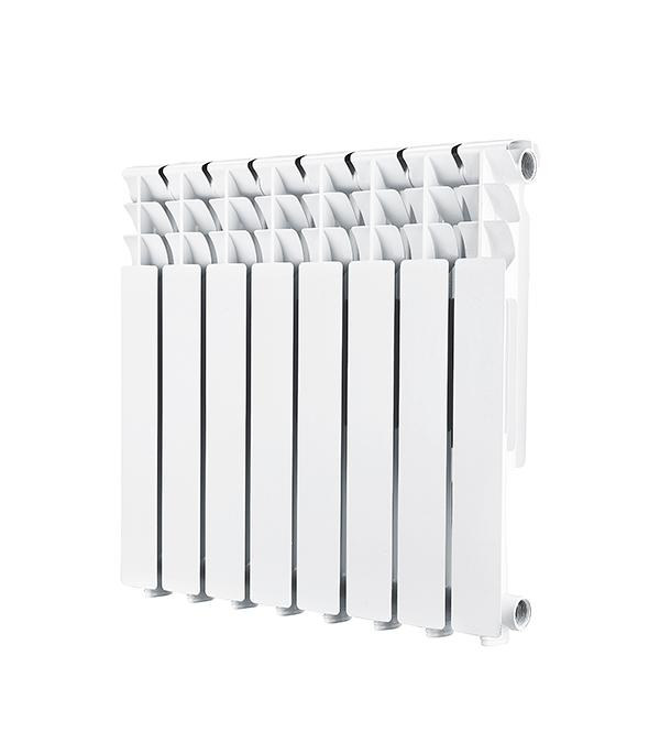 Радиатор алюминиевый 1'' 500, 8 секций