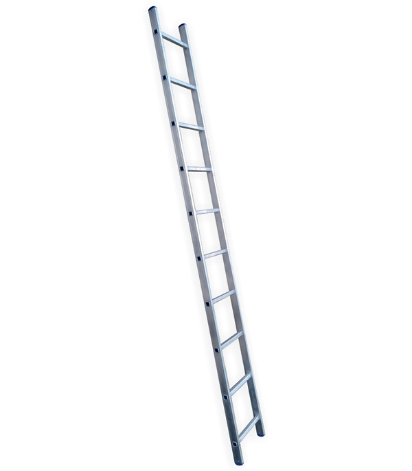 Лестница приставная 10 ступеней L110