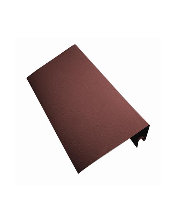 Околооконный профиль Vinyl-On 3660 мм кофе купить черный профиль для дверей купе