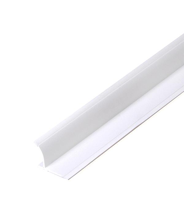 Бордюр для ванны (на плитку) 22х22 мм 2 м белый