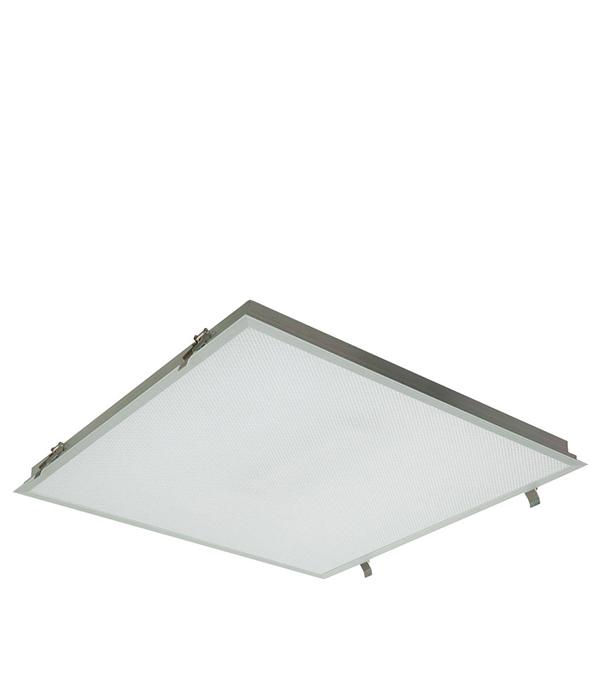 Светильник встраиваемый светодиодный 595x595, 1х38Вт, призм. расс. IP54 Alumogips,CSVT