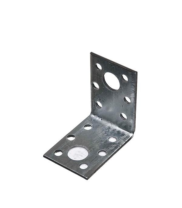 Уголок крепежный оцинкованный 50х50х35х2 мм