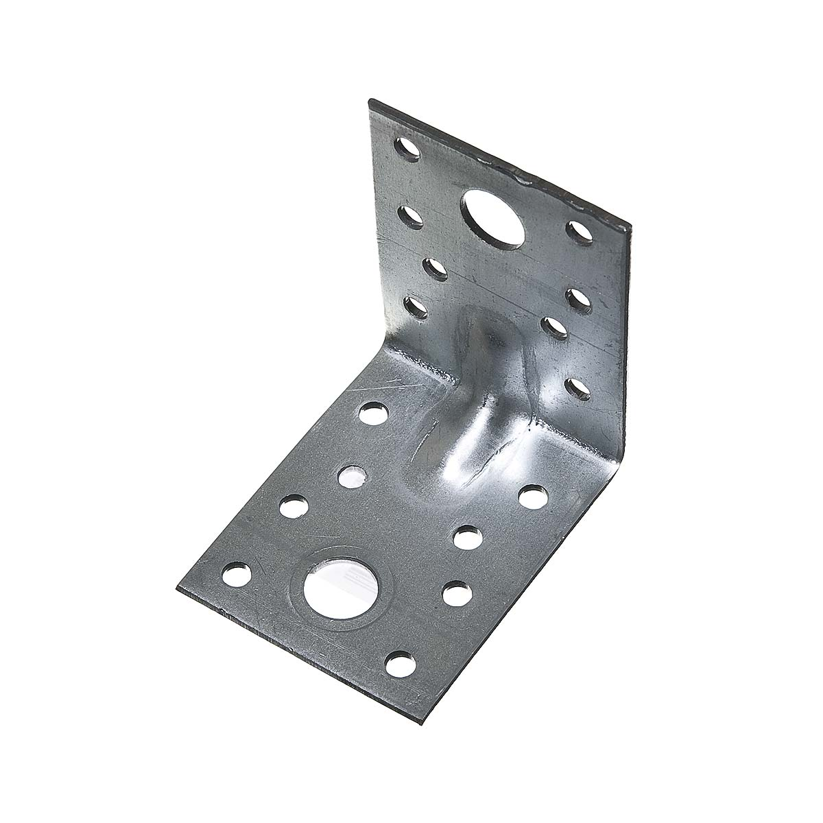 Уголок крепежный усиленный оцинкованный  70х70х55х2 мм