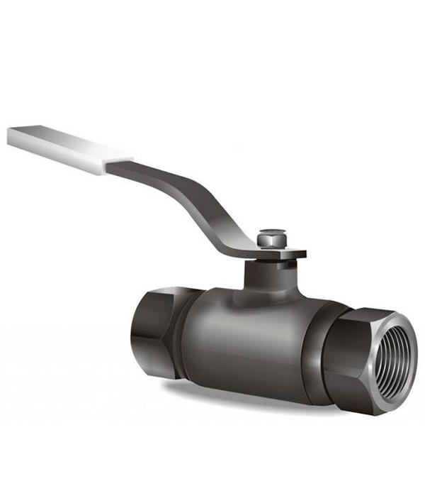 Кран шаровый муфтовый LD PN40 Ду32 1.1/4 в/в стандартнопроходной стальной кран шаровый муфтовый ld pn40 ду15 1 2 в в стандартнопроходной стальной