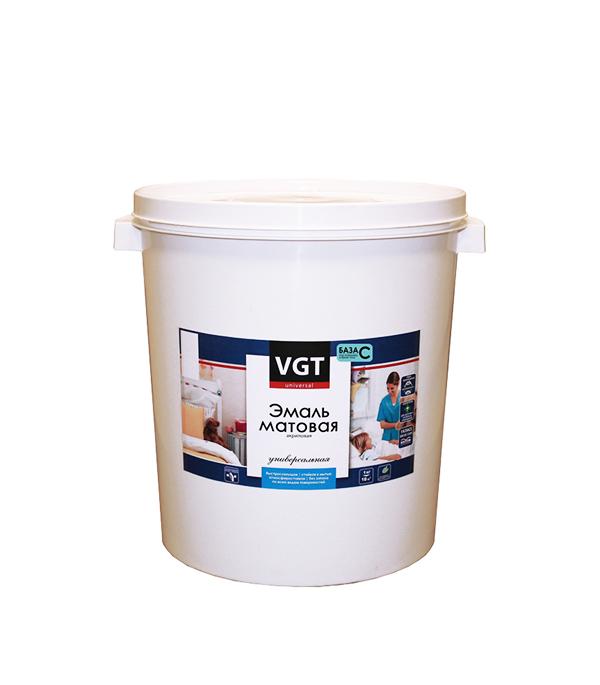 Эмаль универсальная матовая основа C VGT 30 кг
