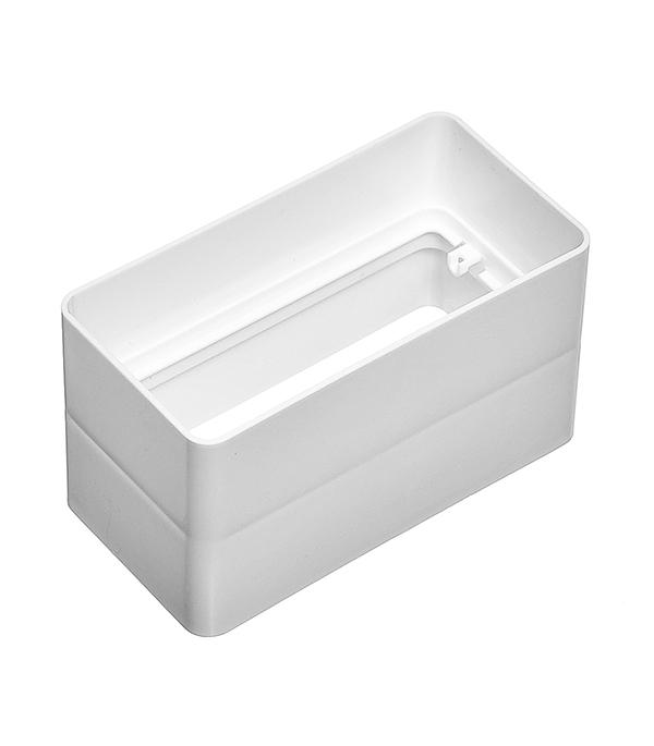 Соединитель для плоских воздуховодов пластиковый 60х120 мм