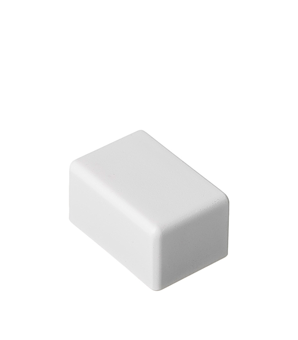 Заглушка для кабель-канала ДКС  25х17 мм торцевая белая
