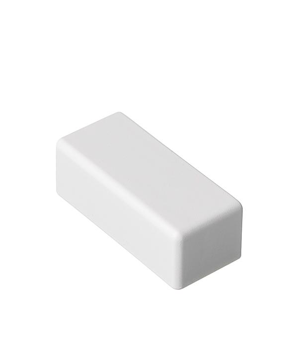 Заглушка для кабель-канала ДКС  40х17 мм торцевая белая