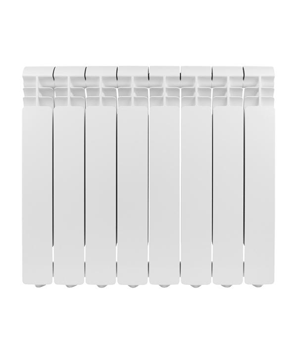 Радиатор алюминиевый 1 Global Iseo 500, 8 секций радиатор отопления global алюминиевые vox r 500 4 секции