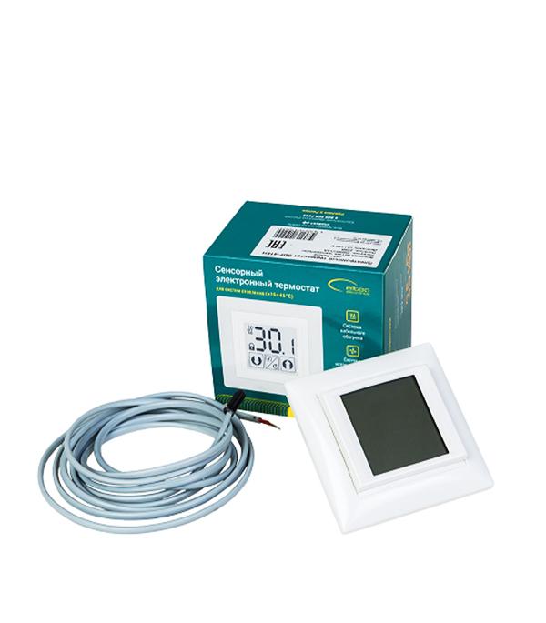 Электронный термостат сенсорный SPYHEAT SDF-418H белый терморегулятор электронный spyheat etl 308b белый