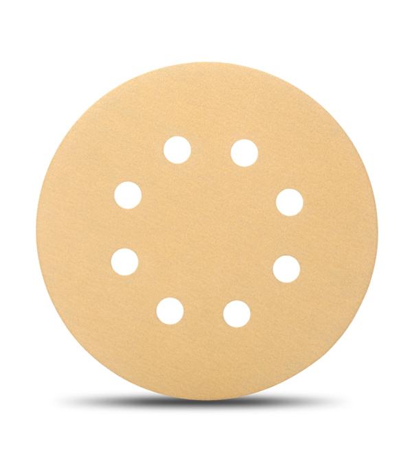 Диск шлифовальный с липучкой Р120 d=125 мм (5 шт) Starcke диск шлифовальный с липучкой р80 d 125 мм 5 шт перфорированный bosch