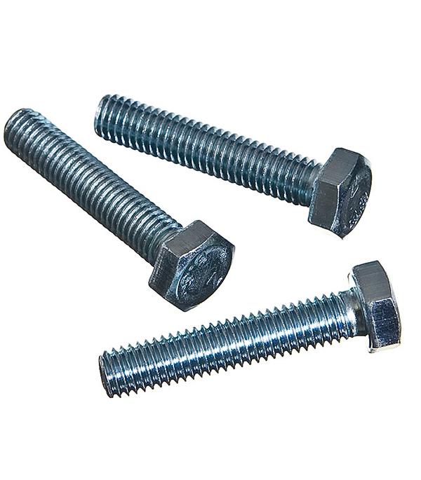 Болты оцинкованные М8х40 мм DIN 933 (25 шт) болты сантехнические оцинкованные 6х70 мм din 571 40 шт