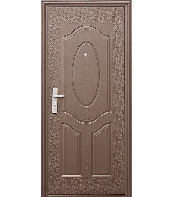 Дверь металлическая Е40М 860x2050 мм правая