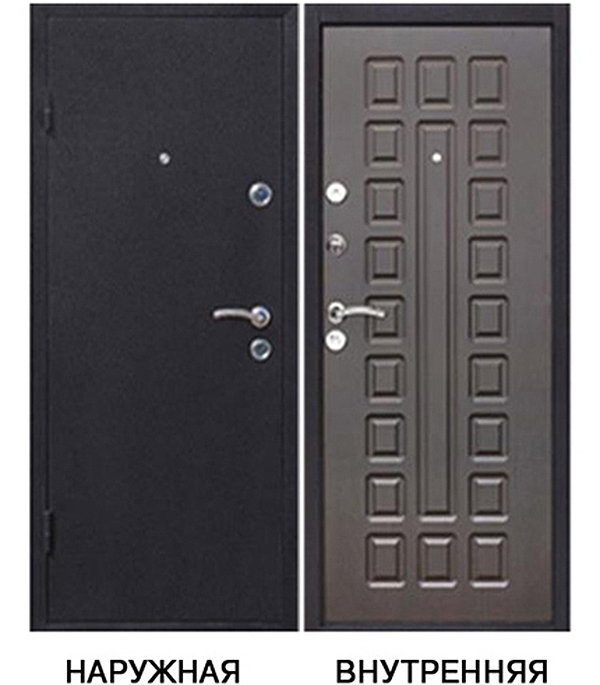 Дверь металлическая Йошкар 860x2050 мм левая